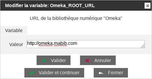 Fichier:Omeka config.png