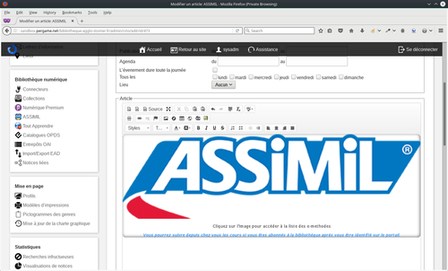 Assimil article admin.png